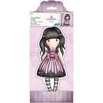 DoCrafts SUGAR & SPICE Large Cling Stamp Gorjuss 97136