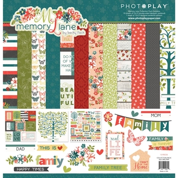 PhotoPlay MEMORY LANE 12 x 12 Collection Pack ml2989