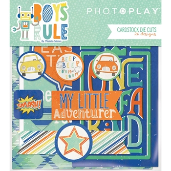 PhotoPlay BOYS RULE Ephemera br8761