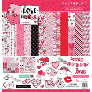 PhotoPlay LOVE NOTES 12 x 12 Collection Pack ln8769
