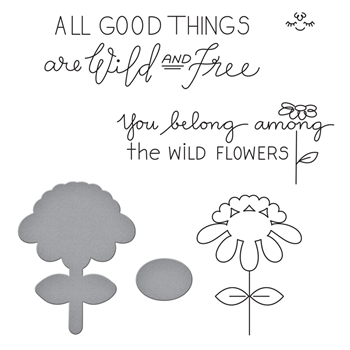 SDS-112 Spellbinders BEAU-TI-FUL Cling Stamp and Die Set by Debbie Adams