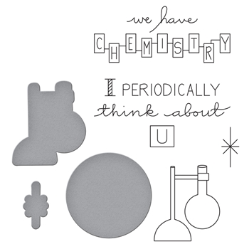 SDS-111 Spellbinders REACTION Cling Stamp and Die Set by Debi Adams