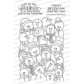 Newton's Nook Designs FROZEN FELLOWSHIP Clear Stamp Set NN1711S05