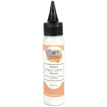 Art Glitter DESIGNER DRIES WHITE ADHESIVE 2oz Glue 100202