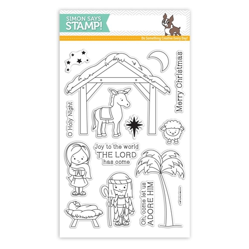 Simon Says Clear Stamps JOY TO THE WORLD sss101791 Preview Image