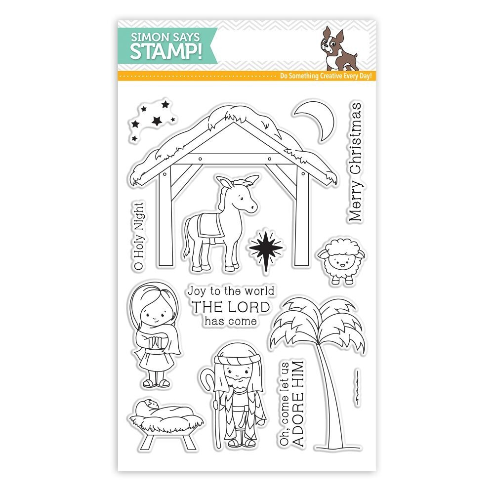Simon Says Stamp 'Joy To The World' Clear Stamp Set