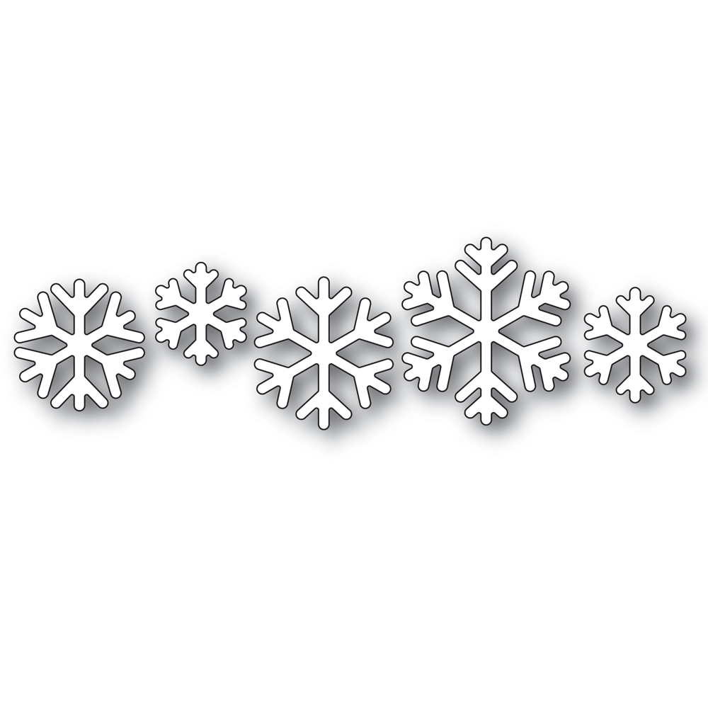 Simon Says Stamp SENSATIONAL SNOWFLAKES Wafer Dies s476 Diecember zoom image