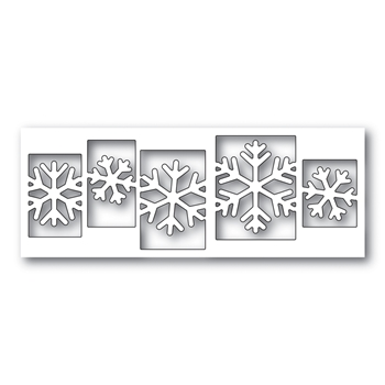 Simon Says Stamp SENSATIONAL SNOWFLAKE COLLAGE Wafer Dies s479 Diecember