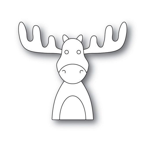 PICTURE BOOK MOOSE Wafer Dies s516 Diecember