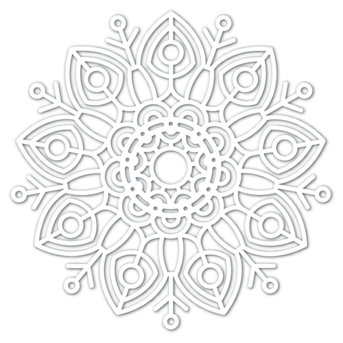 Simon Says Stamp Big Huge FELICITY SNOWFLAKE Wafer Dies sssd111746 Diecember Preview Image