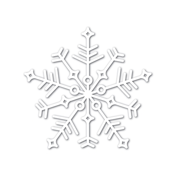 Simon Says Stamp Big JOY SNOWFLAKE Wafer Dies sssd111747 Diecember