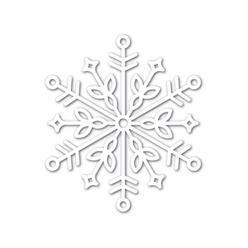 Simon Says Stamp Big BLISS SNOWFLAKE Wafer Dies sssd111749 Diecember