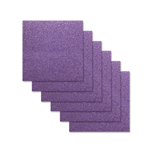 Simon Says Stamp Cardstock AMETHYST GLITTER 6x6 sss308 Preview Image