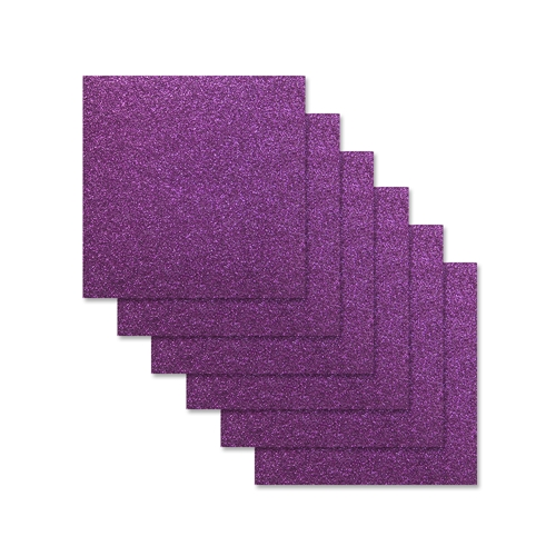 Simon Says Stamp Cardstock PLUM GLITTER 6x6 sss309 Preview Image