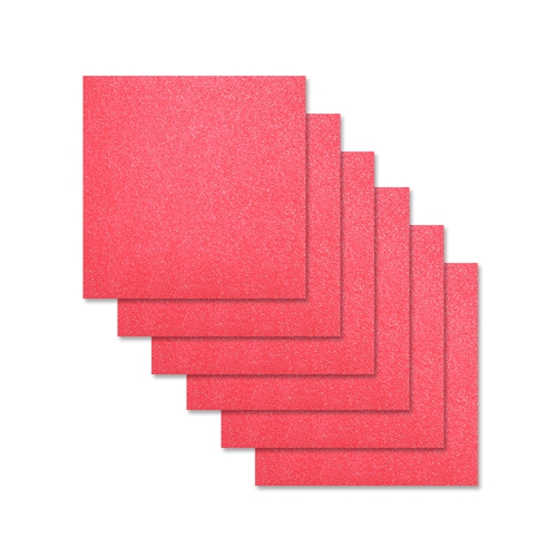 Simon Says Stamp Cardstock HOT PINK GLITTER 6x6 sss311 Preview Image