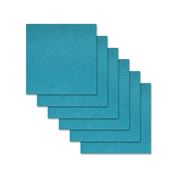 Simon Says Stamp Cardstock TEAL GLITTER 6x6 sss312 Diecember
