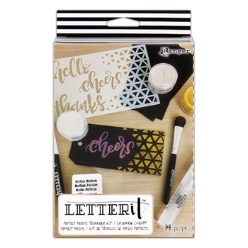 Ranger PERFECT PEARLS TECHNIQUE KIT Letter It lek59370