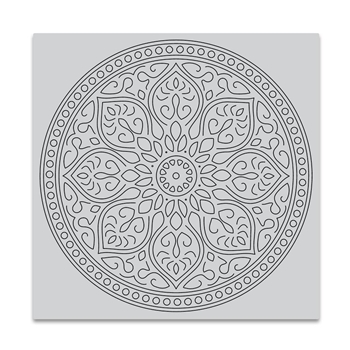 Hero Arts Cling Stamp MANDALA Bold Prints CG726