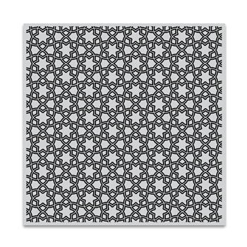 Hero Arts Cling Stamp FLORAL TILE Bold Prints CG725