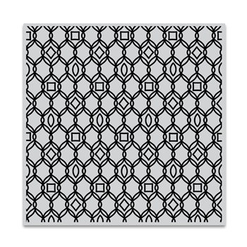 Hero Arts Cling Stamp FILIGREE PATTERN Bold Prints CG724