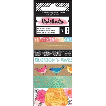 American Crafts Vicki Boutin ALL THE GOOD THINGS Washi Tape 343898