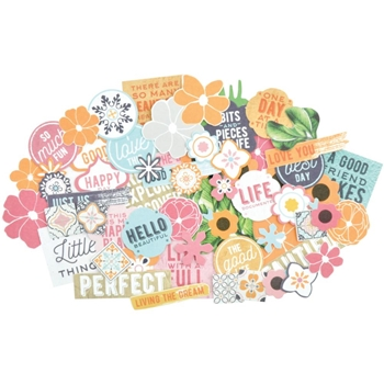 Kaisercraft HAVANA NIGHTS Collectables Die Cut Shapes CT897