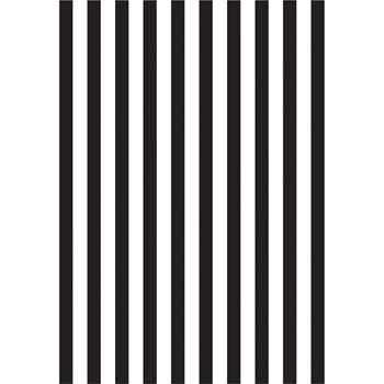 Kaisercraft STRIPED Embossing Folder 4x6 Inches EF279