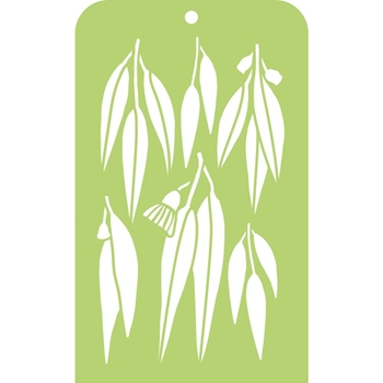 Kaisercraft GUM LEAF Mini Designer Template IT028