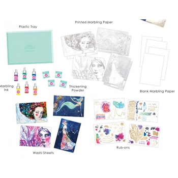 Jane Davenport MARBLING KIT Mixed Media 2 342072