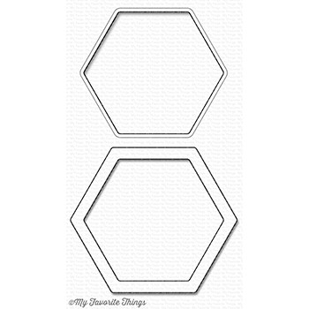 My Favorite Things HEXAGON SHAKER WINDOW AND FRAME DIe-Namics MFT1147