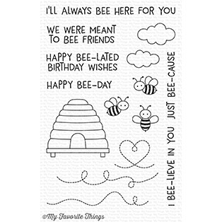 My Favorite Things MEANT TO BEE Clear Stamps CS227