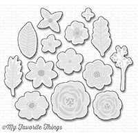 My Favorite Things MORE RUSTIC WILDFLOWERS Die-Namics MFT1204