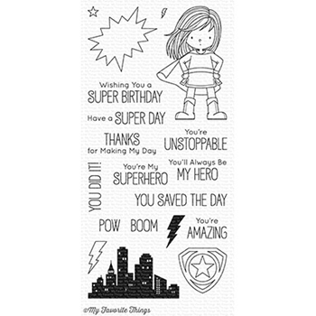 My Favorite Things YOU'RE SUPER Clear Stamps BB53