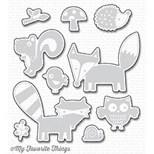 My Favorite Things FRIENDLY FOREST Die-Namics MFT1200 Preview Image