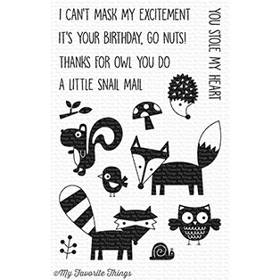 My Favorite Things FRIENDLY FOREST Clear Stamps CS237 Preview Image