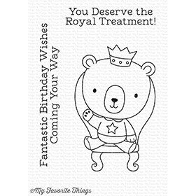 My Favorite Things ROYAL FRIEND Clear Stamps CS233