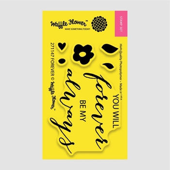 Waffle Flower FOREVER Clear Stamp Set 271147
