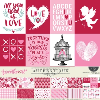 Authentique SWEETHEART 12 x 12 Collection Kit swt008