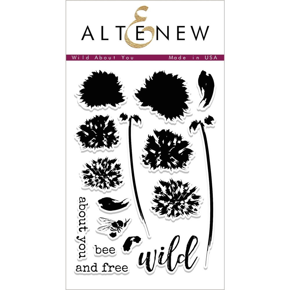 Altenew WILD ABOUT YOU Clear Stamp Set ALT2002 zoom image