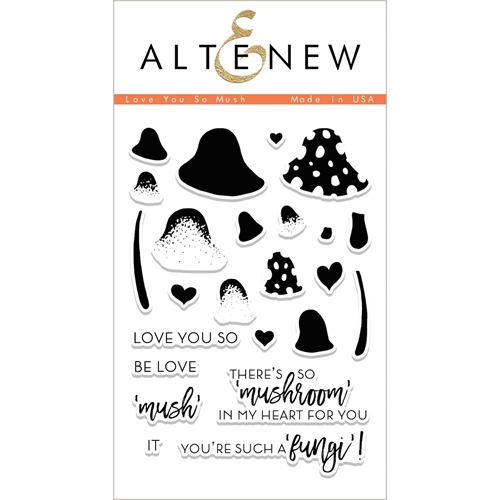 Altenew I LOVE YOU SO MUSH Clear Stamp Set ALT1995 Preview Image