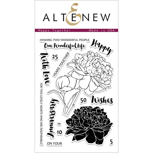 Altenew HAPPY TOGETHER Clear Stamp Set ALT1991 Preview Image
