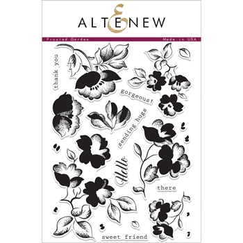 Altenew FROSTED GARDEN Clear Stamp Set ALT1989