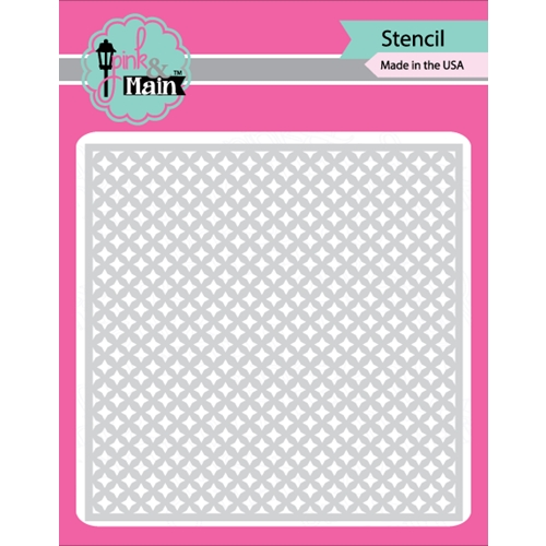 Pink and Main FOUR POINT STARS Stencil PMS002 Preview Image