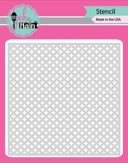 Pink and Main FOUR POINT STARS Stencil PMS002 zoom image