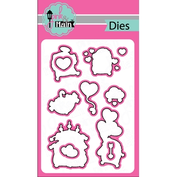 Pink and Main HEDGEHUGS Die Set