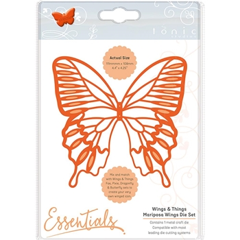 Tonic MARIPOSA WINGS Essentials Die Set 1931e