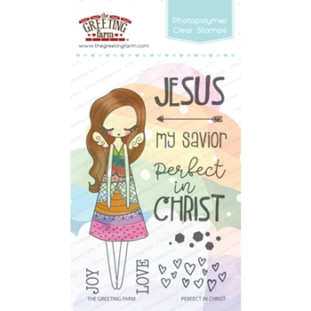 The Greeting Farm PERFECT IN CHRIST Clear Stamps TGF362