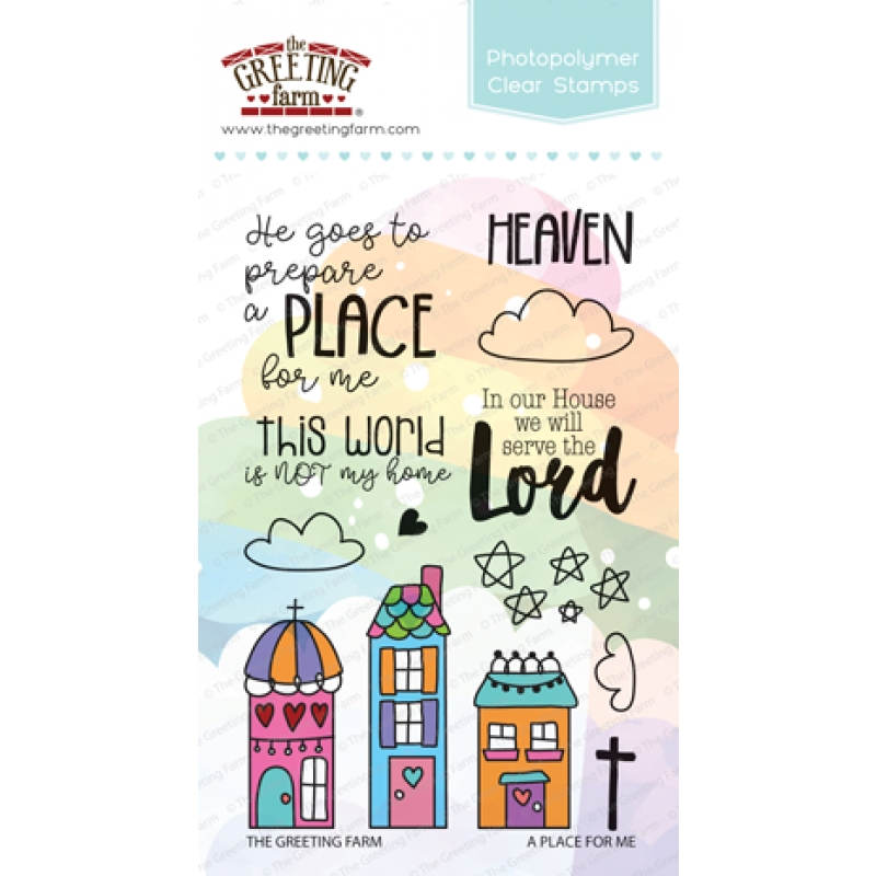 The Greeting Farm A PLACE FOR ME Clear Stamps TGF363 zoom image