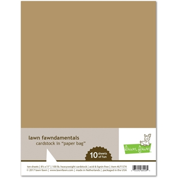 Lawn Fawn PAPER BAG Cardstock LF1574