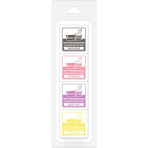 Lawn Fawn COUNTY FAIR Premium Dye Ink Cube Pack LF1568 Preview Image
